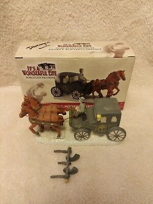 It's a Wonderful Life Henry F. Potter's Carriage by ENESCO