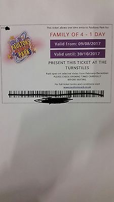 Paultons park - Peppa pig world  family of 4 ticket