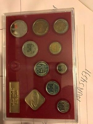 1978 Ussr Proof Set Of Coins. Flawless Condition One Of Each Coin.