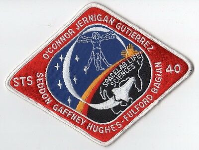 """STS-40 Space Shuttle COLUMBIA Mission NASA 6"""" Patch"""