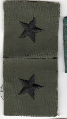 Vietnam Era US Army Brigadier GENERAL Rank Collar Patch