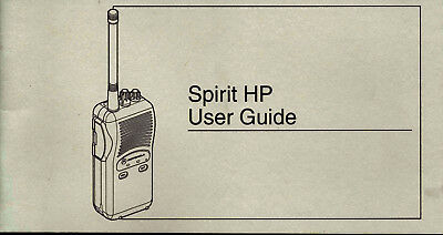 Motorola Spirit HP User Guide Manual
