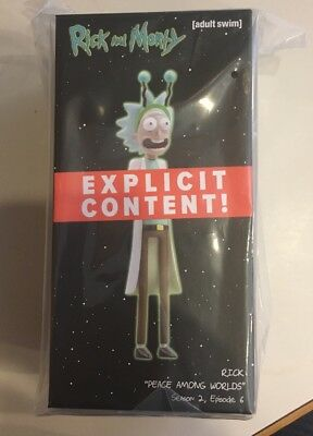 "2017 Rick and Morty Exclusive LootCrate Figure ""Peace Among Worlds"" NEW"