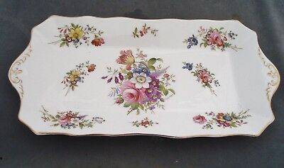 Hammersley Bone China Howard Sprays Sandwich/serving Tray