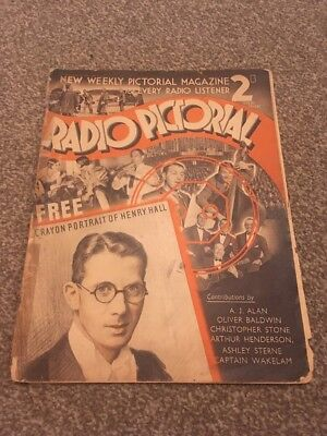 Radio Pictorial. Issue 1.