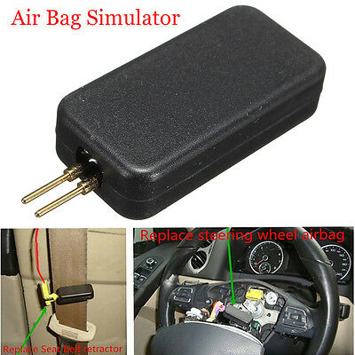 Universal Car Airbag Emulator Simulators Fault Diagnostic Scan Tool Detector New