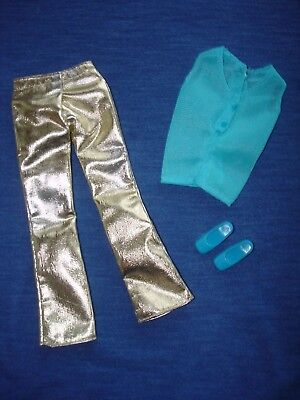 #3354 Glowin Gold 1972 complete Mod Vintage Barbie Doll Outfit