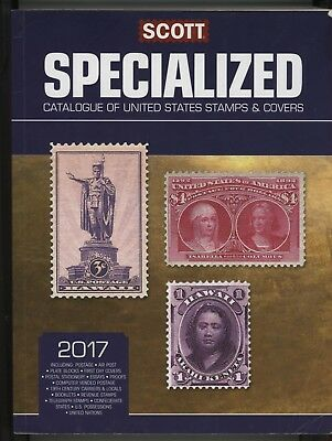 Mr Fancy Cancel 2017 Scott Specialized Catalogue United States Stamps & Covers