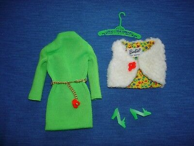 #1482 Important Investment  1969-1970 complete Mod Vintage Barbie Doll Outfit