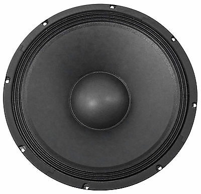 "Rockville 400 Watt 15"" Raw DJ/Pro Audio Subwoofer Sub Woofer - 8 Ohm"