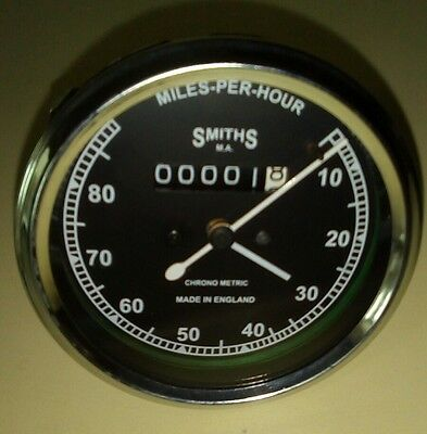 Smith chronometric speedometer