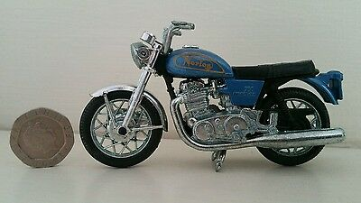 Polistil Norton Commando motorcycle die cast model vintage