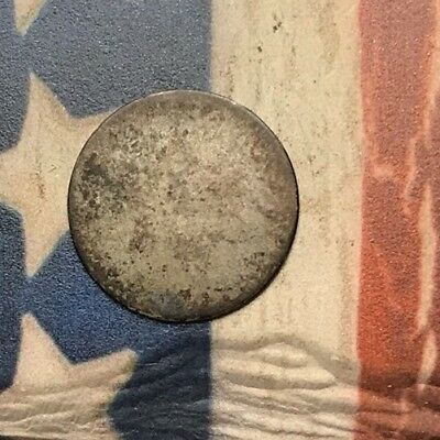 1851-1853 Type 1 3C Three Cent Silver Piece Vintage US Coin #CP5
