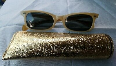 Vintage 1940s-50s Bausch & Lomb B&L Ray-Ban Sunglasses Readers Excellent