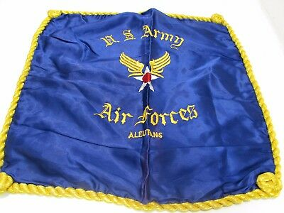 """WWII US Army Air Forces Aleutans pillow sham, size 17"""" x 17"""".   Ia"""