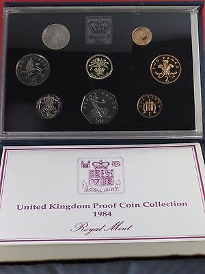 1984 United Kingdom Proof Set with Certificate of Authenticity