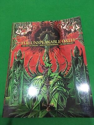 The Unspeakable Oath Issues 16/17 Call Of Cthulhu RPG