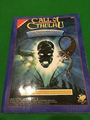 Masks Of Nyarlathotep For Call Of Cthulhu RPG