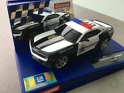"Carrera Digital 132 30756 Chevrolet Camaro "" Sheriff "" Blinklicht NEU OVP"