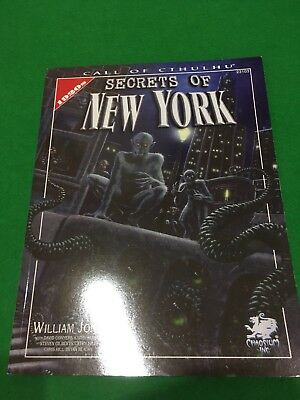 Secrets Of New York For Call Of Cthulhu RPG