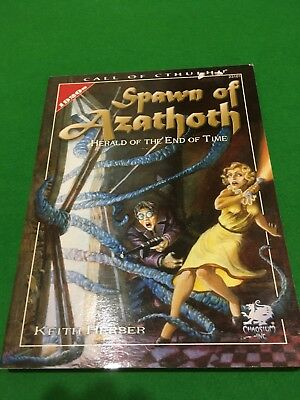 Spawn Of Azathoth For Call Of Cthulhu RPG