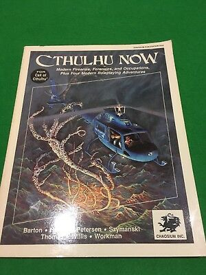 Cthulhu Now For Call Of Cthulhu RPG