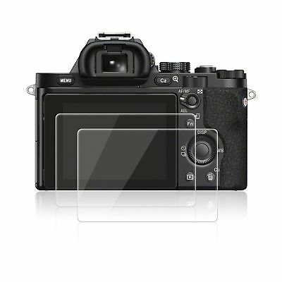 Screen Protectors for Sony A7 A7R A7S AFUNTA 2 Pack Anti-scratch Tempered Gla...