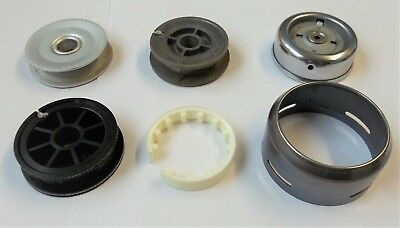 3 Spools, Cover & Part Of Rotor Assembly For ABU 506 etc (501, 503, 505 & 506M)