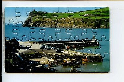 Isle Of Man - Colour Master Viewcard & Jigsaw Port Erin Bay Bradda Head