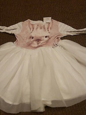 12-18 months girls rabbit dress next