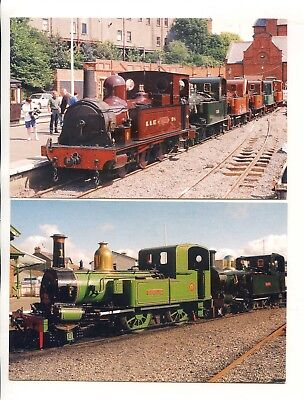 Isle Of Man Set Six Limited Edition Manx Steam Railway Postcards