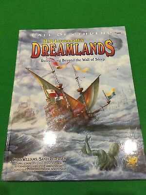 Dreamlands For Call Of Cthulhu RPG h/b