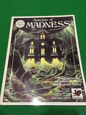 Mansions Of Madness For Call Of Cthulhu RPG