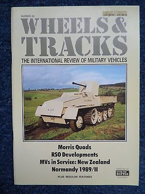 Wheels & Tracks Magazine - Issue Number 29