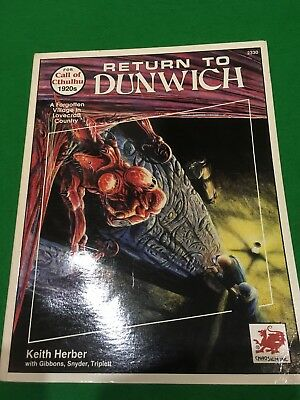 Return To Dunwich For Call Of Cthulhu RPG