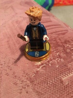 Lego Dimensions Newt Scamander Disc And Lego