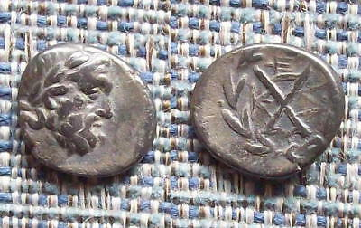 Greek Coin: ACHEAN LEAGUE silver hemidrachm, 196-146BC