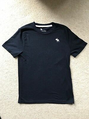 Abercrombie & fitch Boys Blue T-shirt Size 9/10 Years