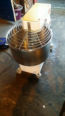 Grain 40L Large Commercial Spiral Dough Mixer - Heavy Duty - Safety Guard - VGC