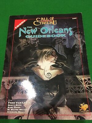 New Orleans Guidebook For Call Of Cthulhu RPG