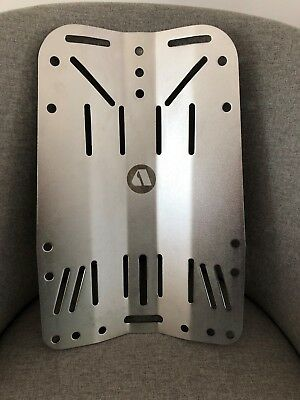 Apeks WTX Stainless Steel Back Plate (Back Plate & Wing) - Excellent Condition