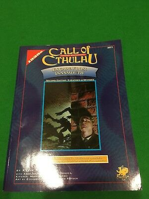 Escape From Innsmouth For Call Of Cthulhu RPG