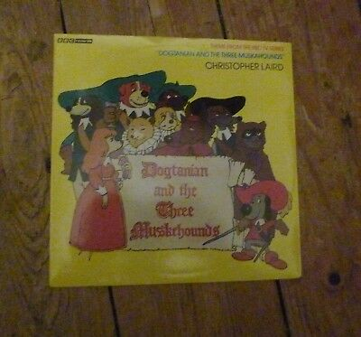 "Christopher Laird Dogtanian & Three Muskehounds 7"" Vinyl Pic Slv Combined Post"