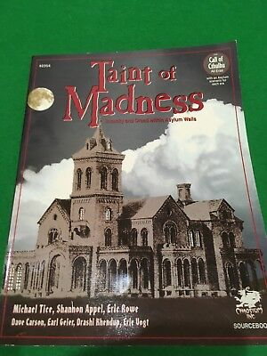 Taint Of Madness For Call Of Cthulhu RPG