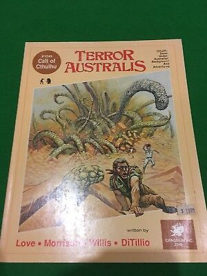 Terror Australis For Call Of Cthulhu RPG