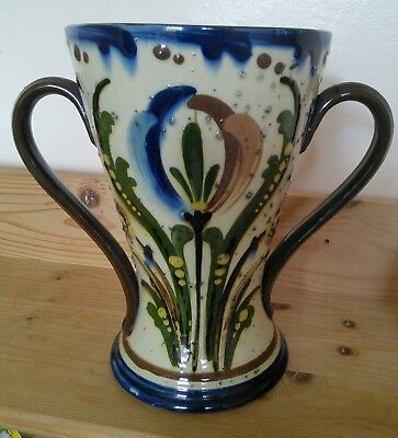 Early and Large Aller Vale Art Nouveau Torquay Motto Ware Vase
