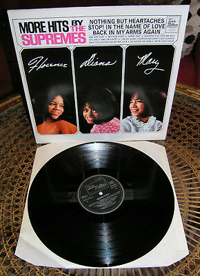 The Supremes: More Hits By The Supremes, LP, German pressing, TOP! ■