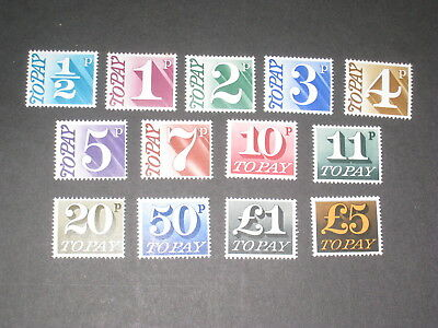 1970 Postage Dues D77-D89 Mounted Mint