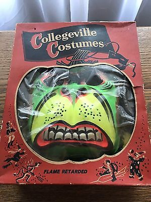 Vintage Collegeville Costumes Gorilla Costume With Box