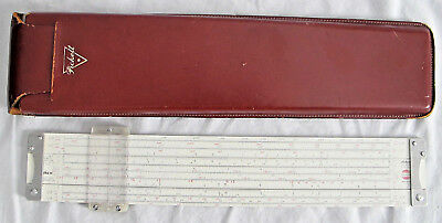 Vintage 1965 Model C19-T Pickett Slide Rule for the Collins Radio Company